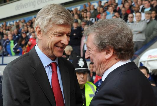 Hodgson denies row with Wenger over Wilshere
