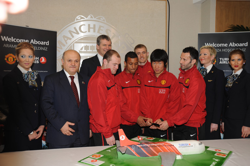 Man Utd clinched a sponsorship deal with Russian Aeroflot