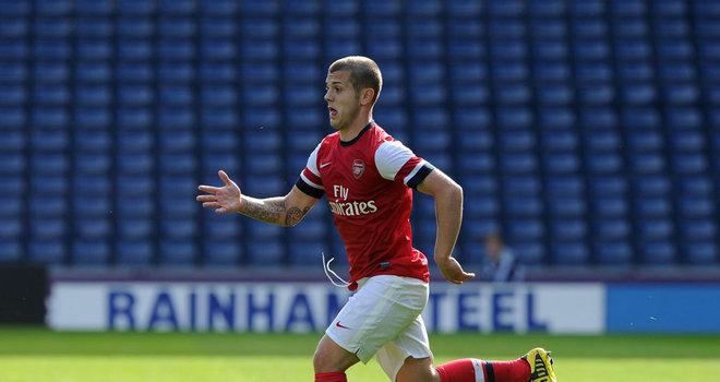 Уилшир сыграл за молодежку «Арсенала»