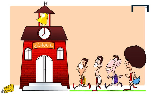 Лучшая карикатура дня. Дебюты Озила, Бейла, Кака и Феллайни