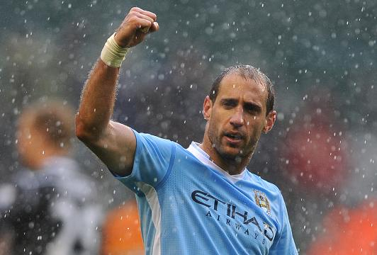 Man City Zabaleta targets FA Cup glory