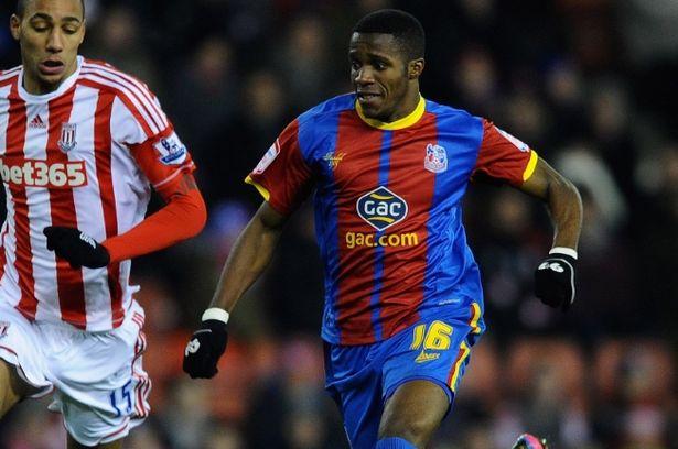 Man Utd agreed terms with Wilfried Zaha