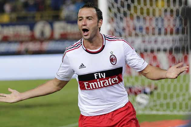 Pazzini is set to renew his contract with Milan