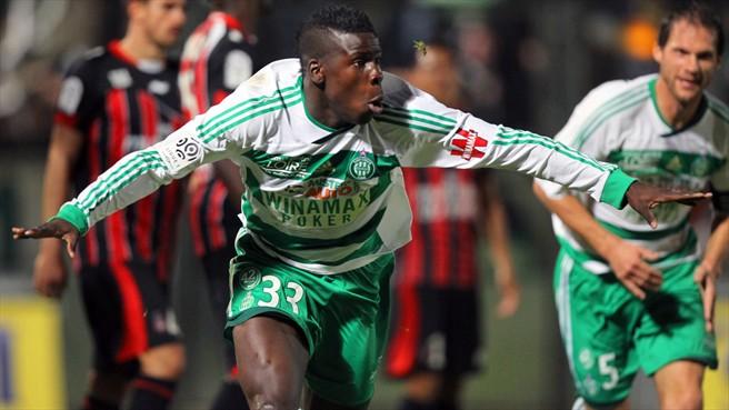 Man Utd target St. Etienne Zouma