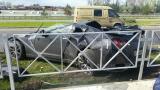 Ещенко разбил машину