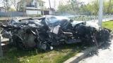 Андрей Ещенко попал в аварию