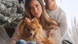 Надя Авилес, Денис Суарес и их собака