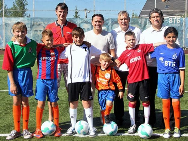 детская школа по футболу спартак москва российским законам
