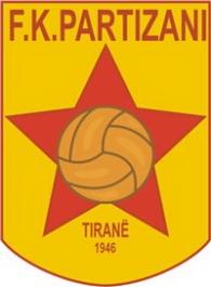 ФК Партизани лого