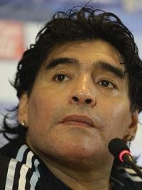 Диего Марадона фото