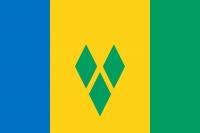 Флаг Сент-Винсент и Гренадин